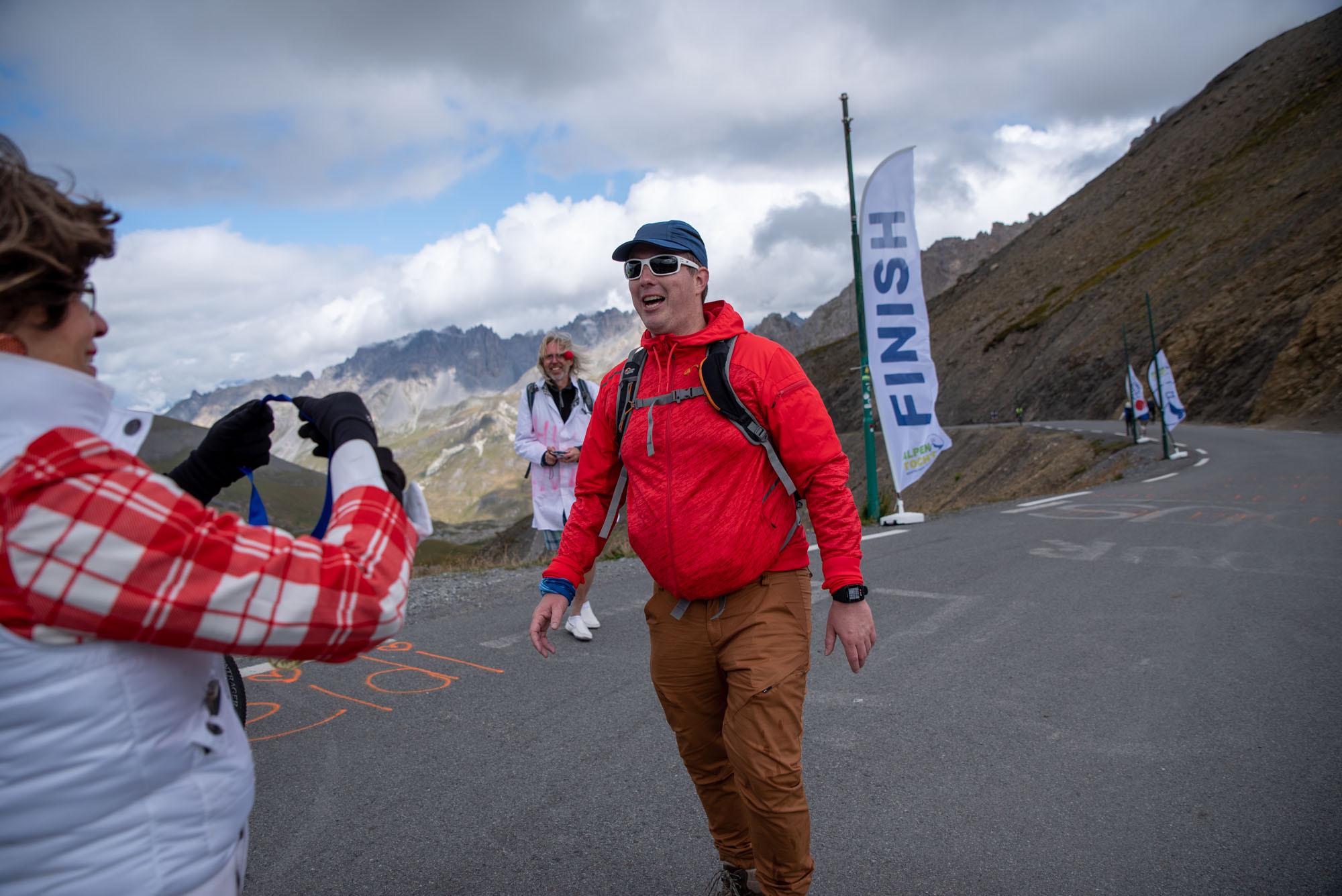 Alpentocht Finish